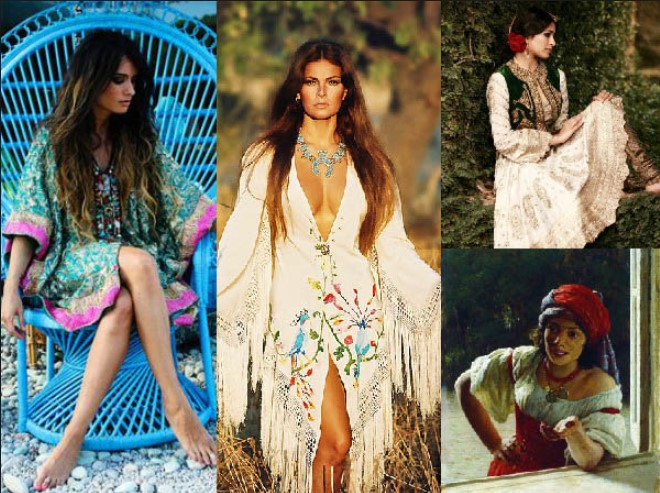 Boho blouses are part of bohemian fashion style